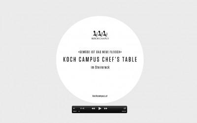 Koch.Campus im Steirereck am 7.10.